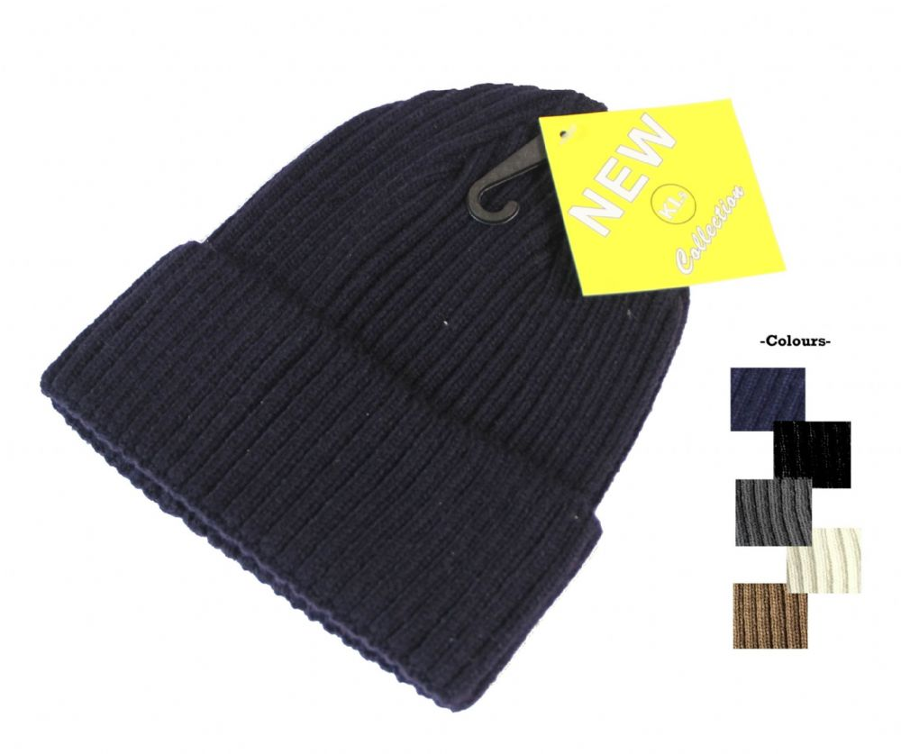 S39-HT5715 Assorted colour winter unisex beanie hat